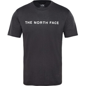 The North Face Train N Logo Hardloopshirt korte mouwen Heren zwart